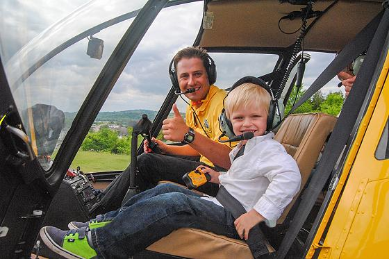 Scenic Helicopter tours are family friendly!