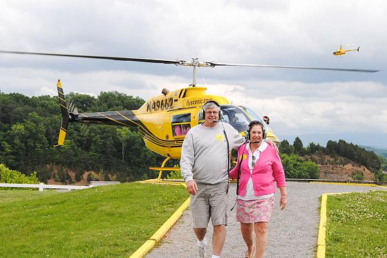 Helicopter tours make one-of-a-kind memories.
