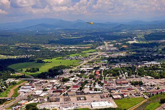 View the Smokies from above in a Helicopter