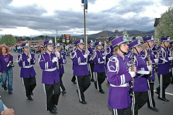 Sevier County Marching Band
