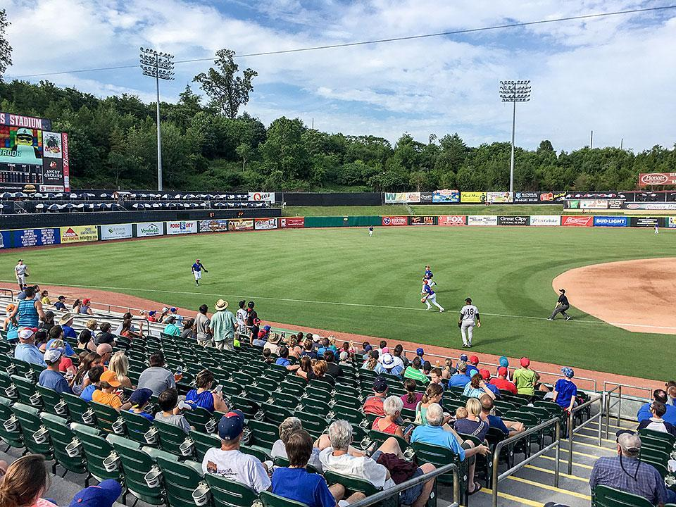 Tennessee Smokies Baseball game