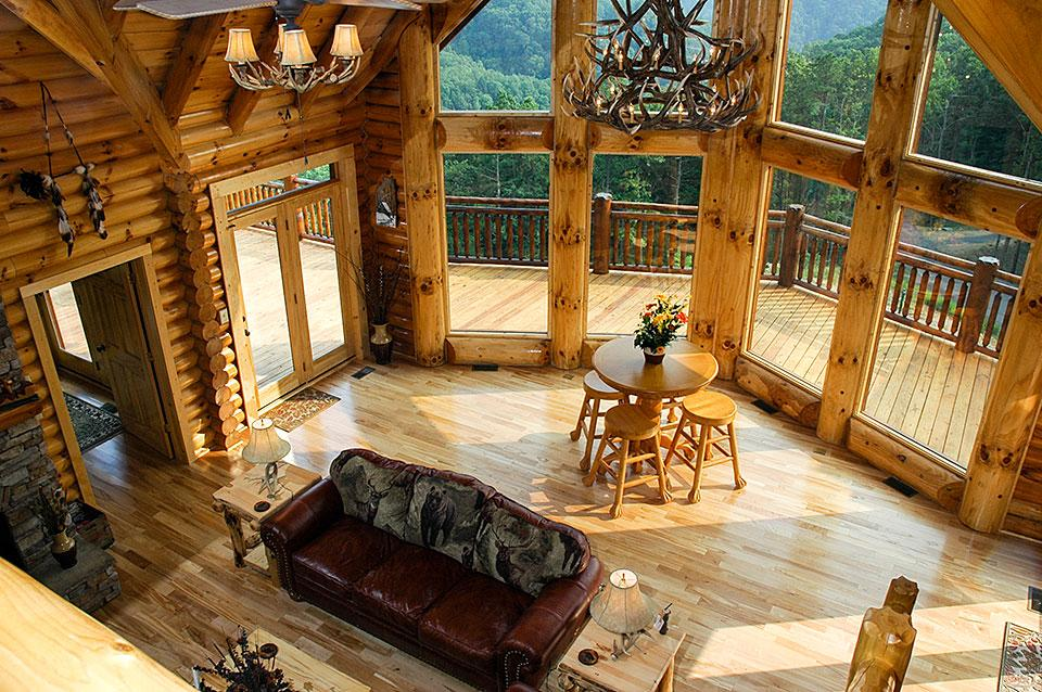 Smoky Mountain Cabin With A View