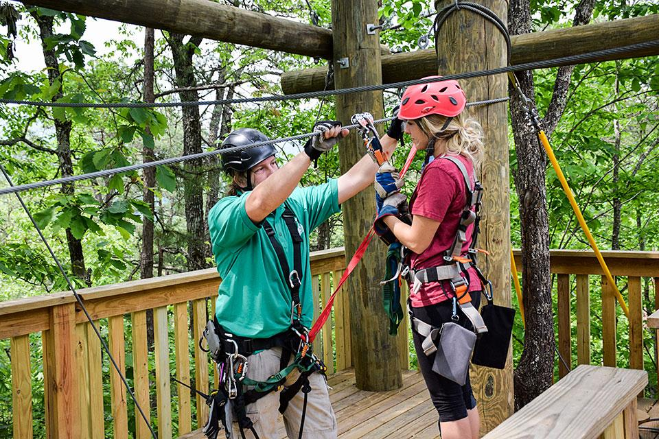 Smoky Mountain Ziplines for another scenery option