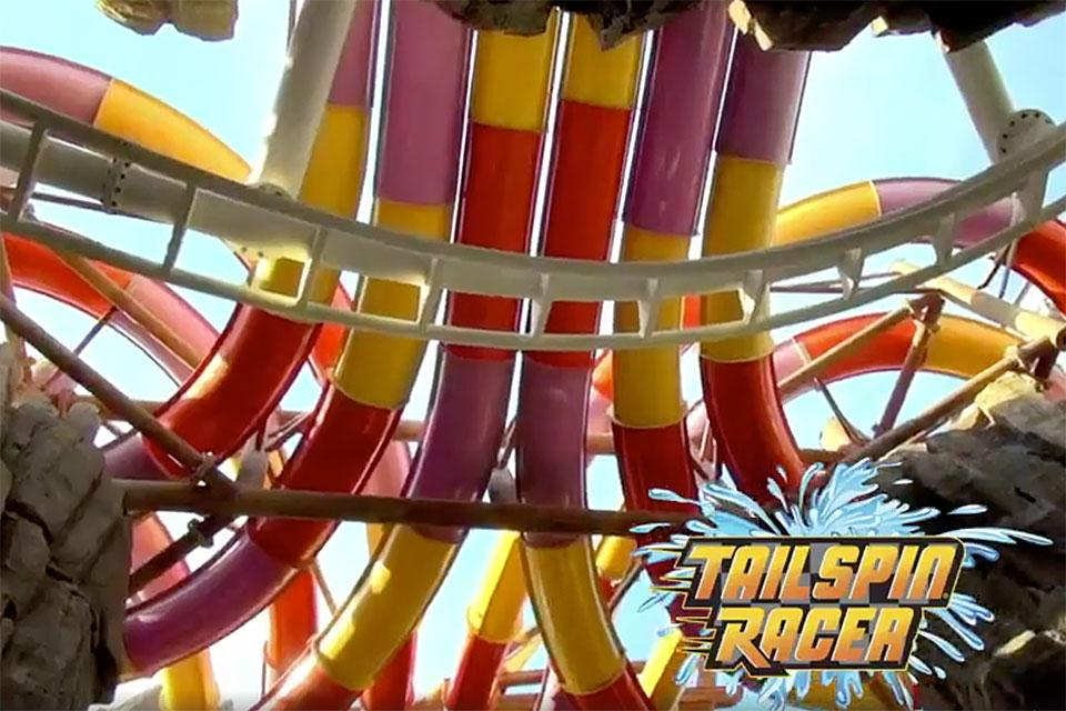 Tailspin Racer At Dollys Splash Country
