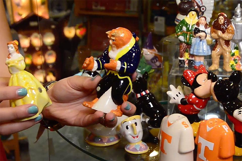 Visit the Honey Pot for collectibles at the Village in Gatlinburg.