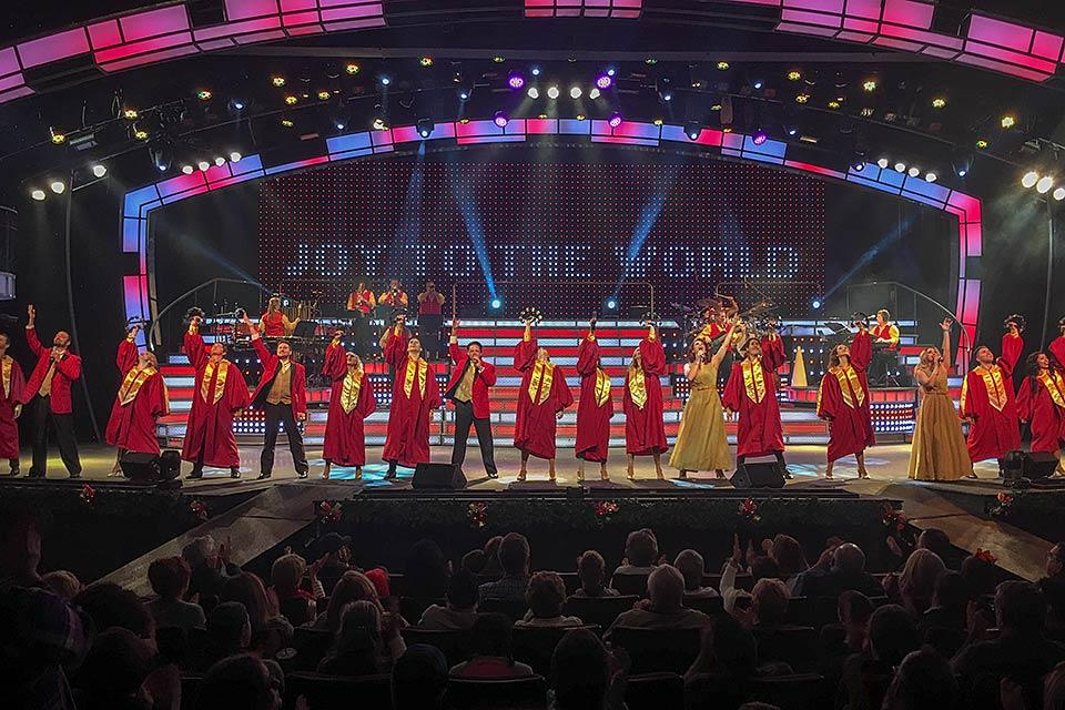 Smoky Mountain Opry show in Pigeon Forge