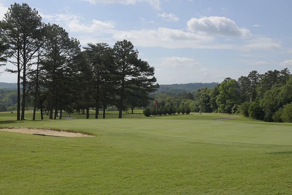 Three Ridges Golf Course, Knoxville, TN-16th green