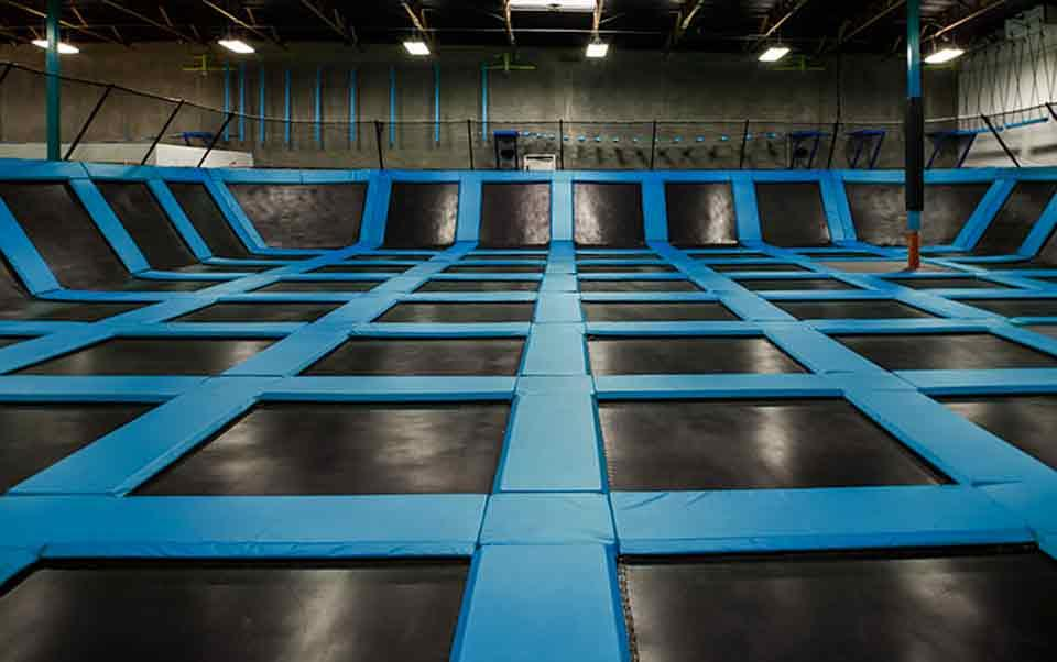 Trampoline Park offers plenty of space to jump!