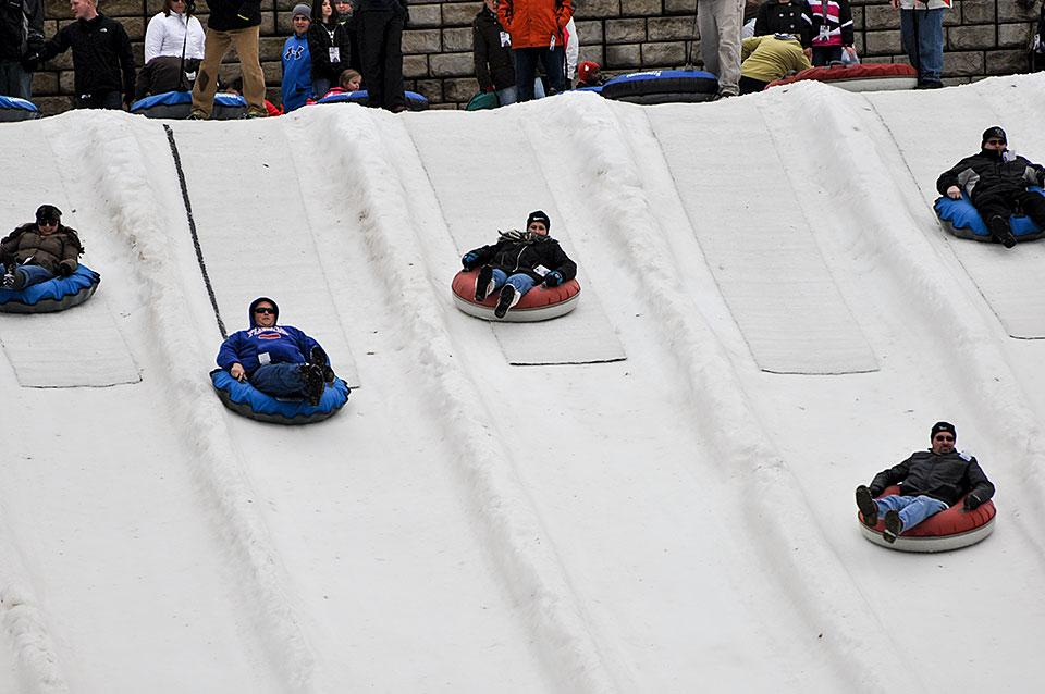 Tubing At Ober Gatlinburg Open