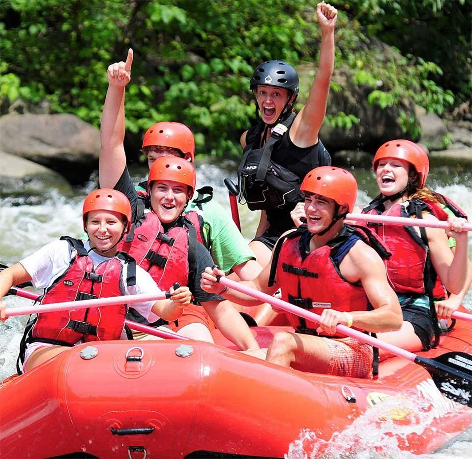 Whitewater rafting on your next family vacation